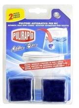 Pulirapid WC Cubo Active Blue 2 ks blok do WC splachovačů