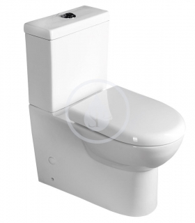 Aqualine Keramika WC kombi Talin, Soft Close, bílá PB101