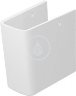 Duravit ME by Starck Polosloup, 170 mm x 300 mm, bílý 0858400000