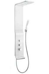 Hansgrohe Raindance New Sprchový panel Lift 180 2jet, bílá/chrom 27008400