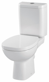 CERSANIT - WC KOMBI FACILE 319 011 3/6 SEDÁTKO FACILE DUROPLAST SOFT CLOSE (K30-016)